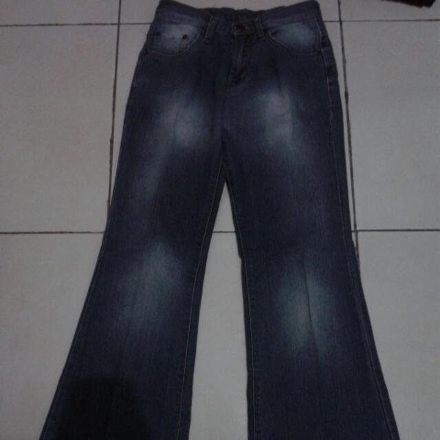 Jeans Cutbrai Emba Size 27