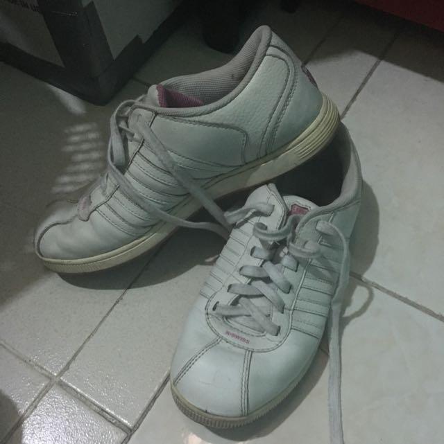 k swiss white sneakers