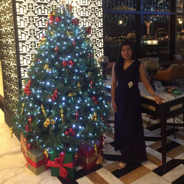 Karimadon Long Gown Purple