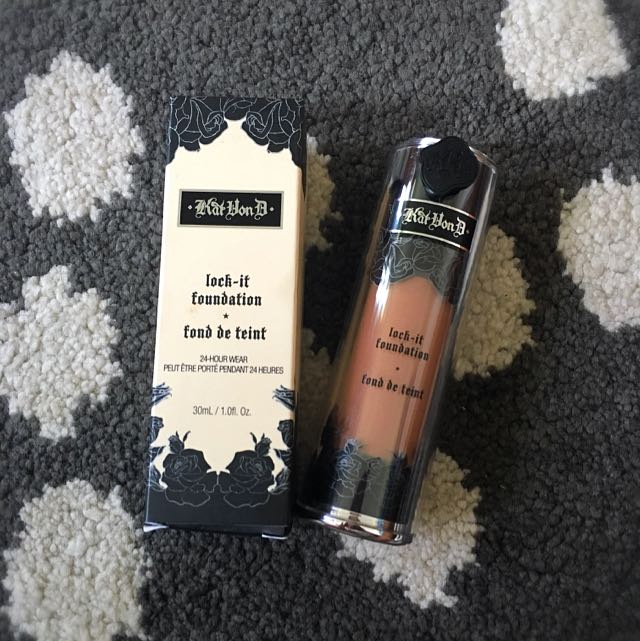 Kat Von D Lock It Foundation - Deep 66