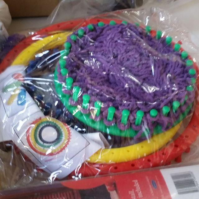 Knitting Looms, circular x 3