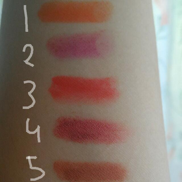 Lipstik Take All : Lindor Nabi Kissproof LA girl City Color