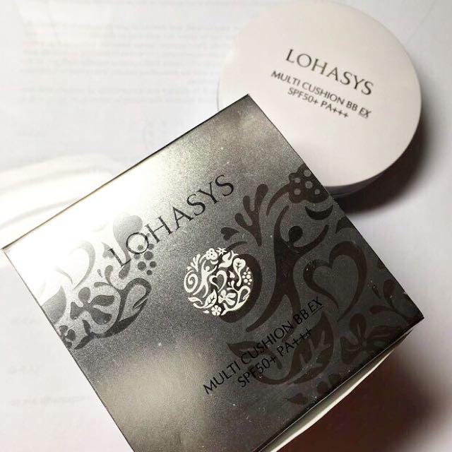 Lohasys 蝸牛氣墊粉餅 1+1 專櫃正品加補充包組合