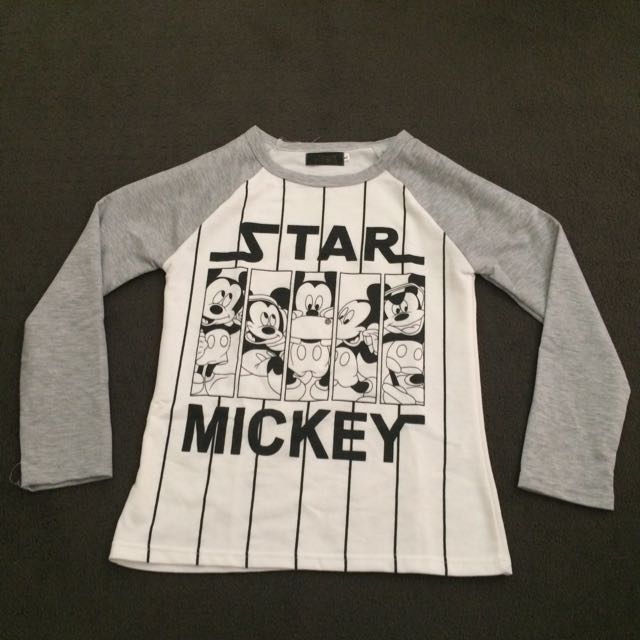 Mickey Mouse Long Sleeve Top