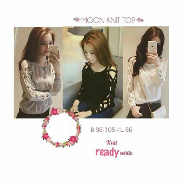 Moon Top (Only Grey)