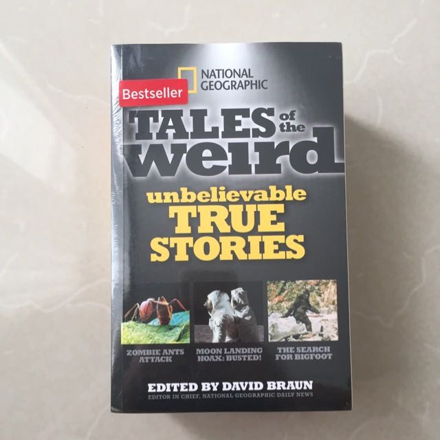 National Geographic Book Tales Of The Weird