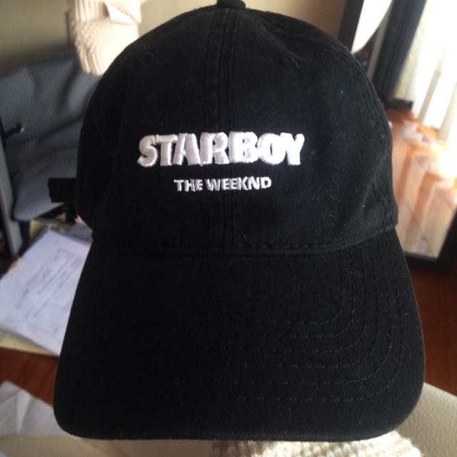 Official The Weeknd STARBOY Merch Hat UNISEX