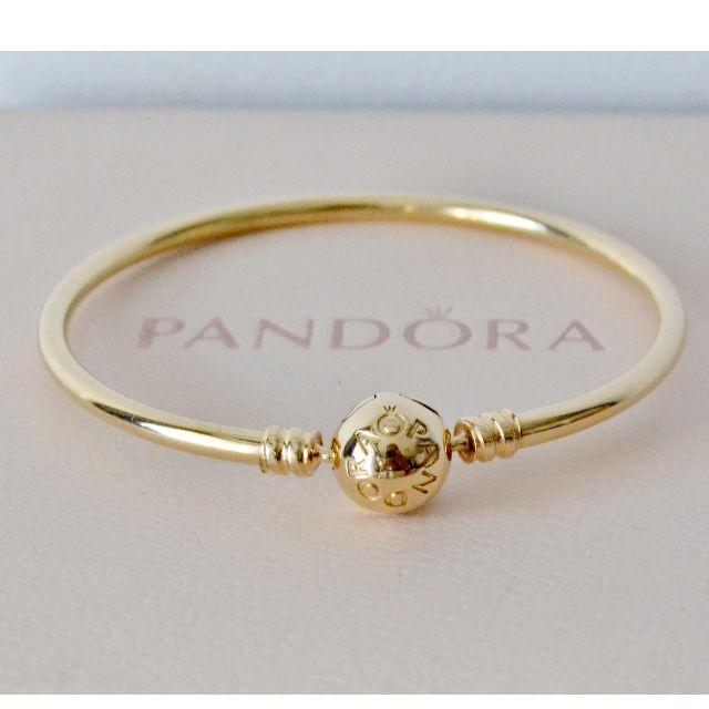 Pandora 14kt Gold Bangle