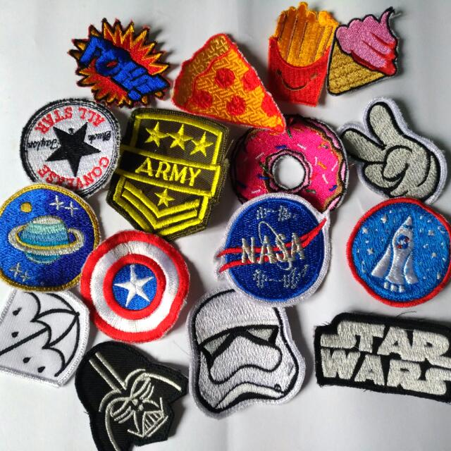 Patch Tumbrl Bordir Kekinian