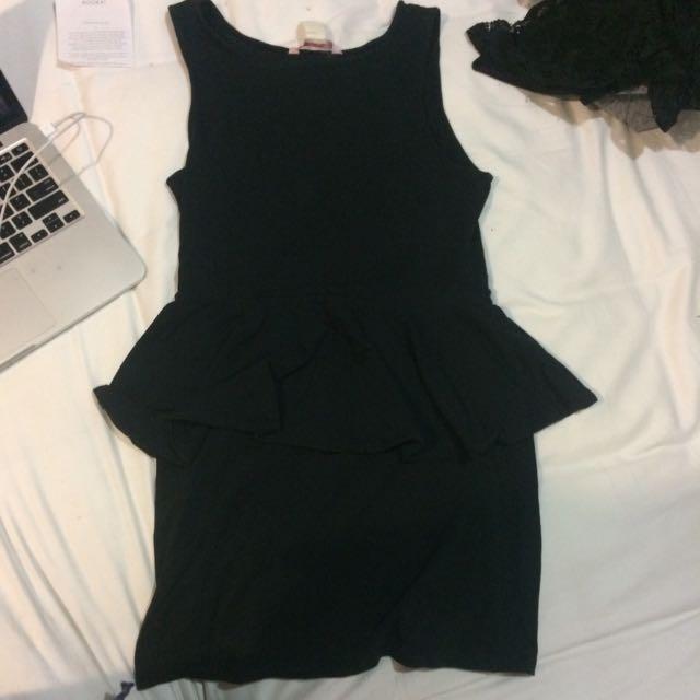 Peplum Dress Supre