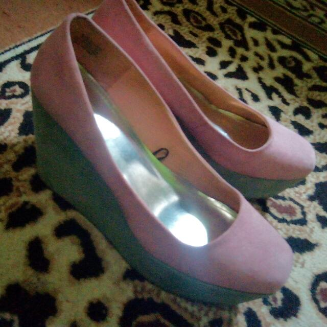Pink Wedges HnM 39