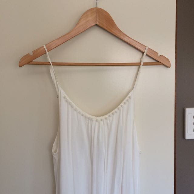 Pure Hype White Maxi Dress