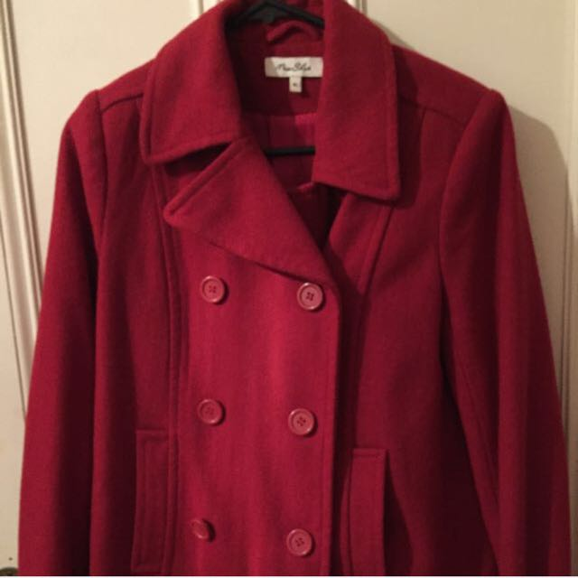 Red Miss Shop Coat
