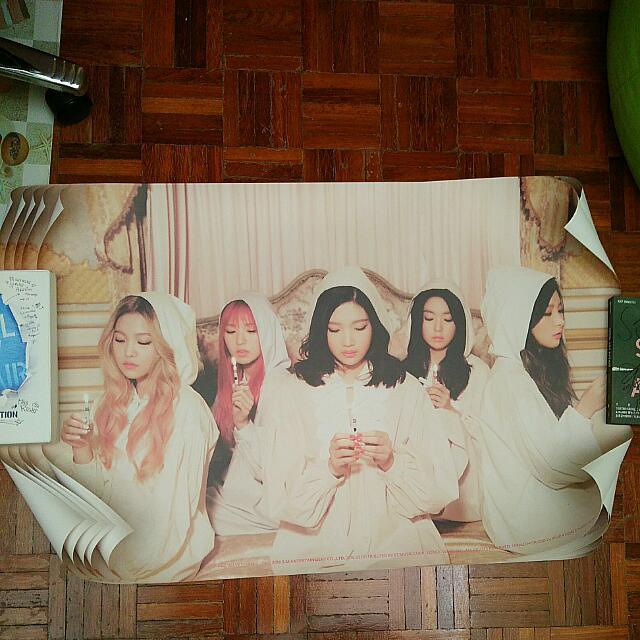 Red Velvet The Velvet Group Poster