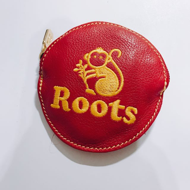 Roots 猴年 限定 真皮零錢包 無販售