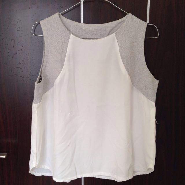 Simole Grey Top