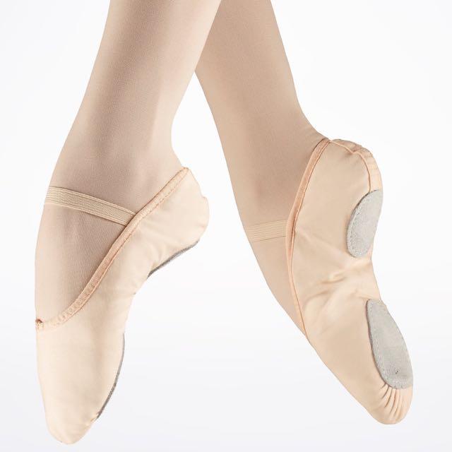So Danca Split Sole Canvas Ballet Shoes