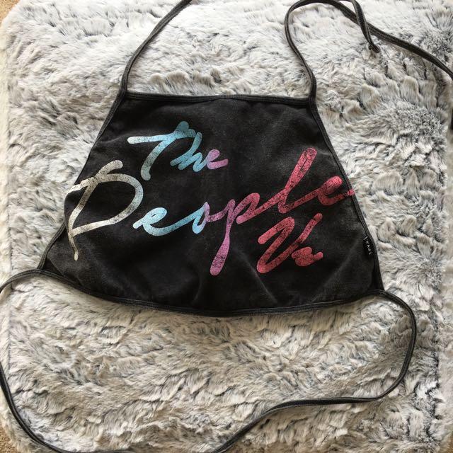 The People Vs Tie Top