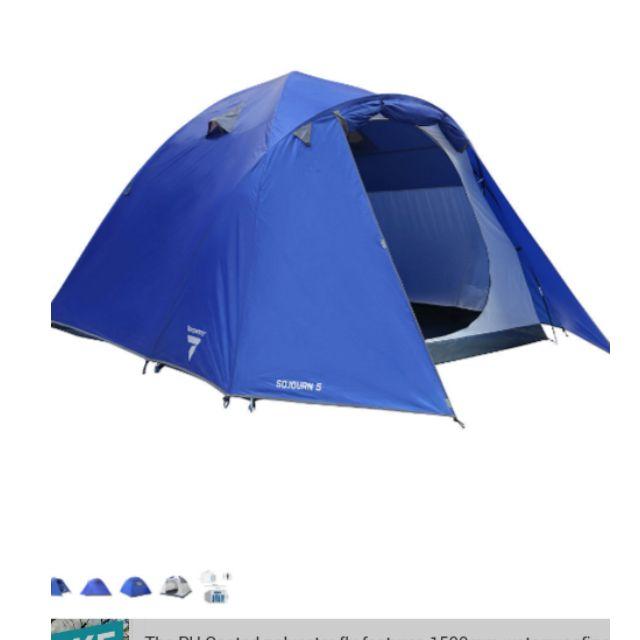Torpedo 7, 5-person tent