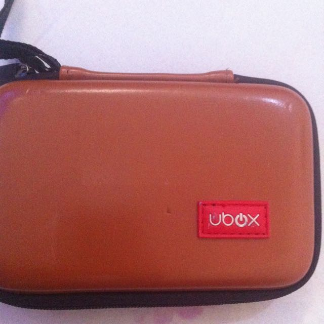 Ubox Pouch Coklat - Limited Edition