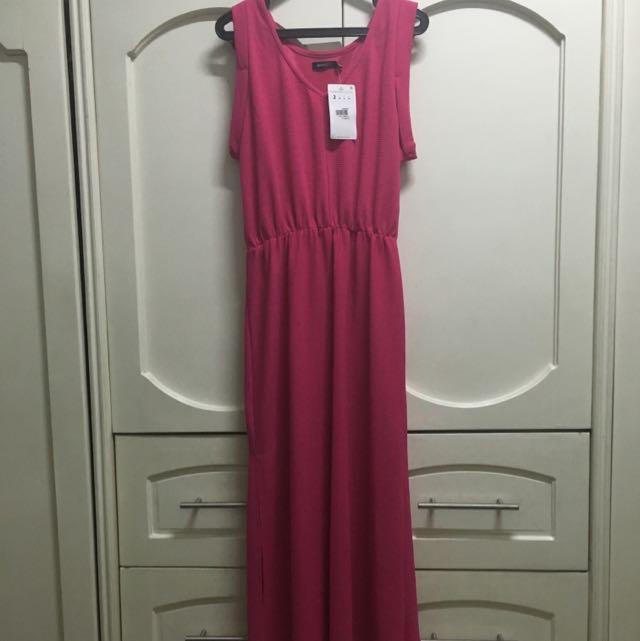 Unarosa Fuschia Maxi Dress