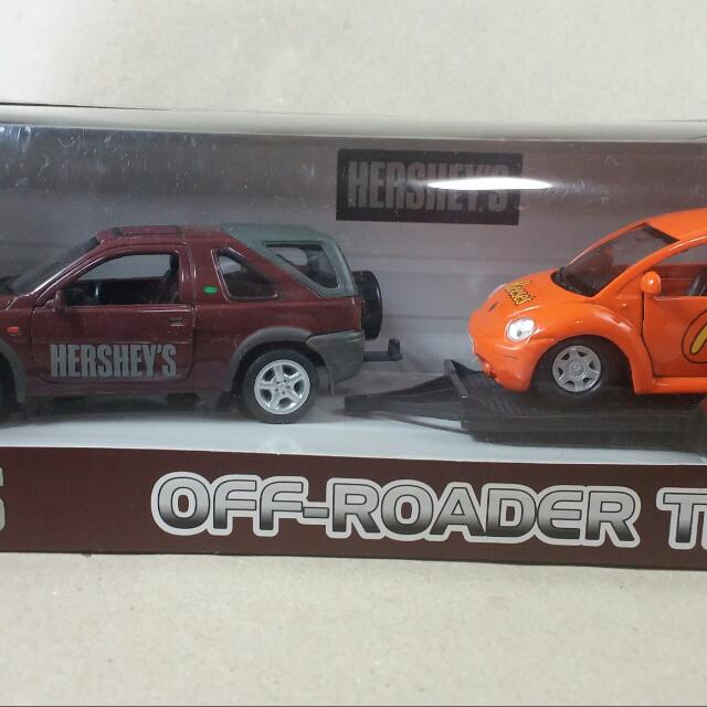 Hershey's Off-Road Trailer Set by Welly