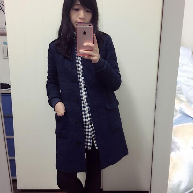 Zara Basic 超質感大衣(待匯款)
