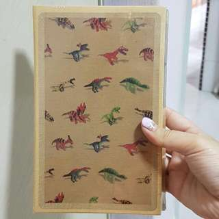 3-IN-1 HANDY NOTE BOOK, DINO MOTIF