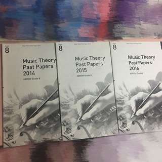 ABRSM Theory Past Papers Grade8