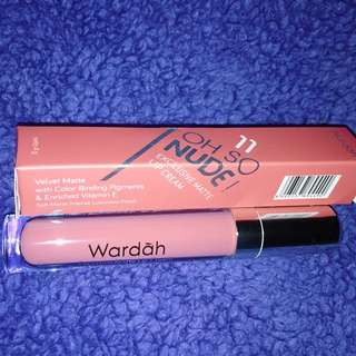 Exclusive Matte Lip Cream Wardah