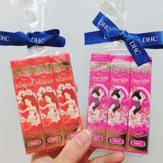 DHC迪士尼 公主系列 限量 潤色 護唇膏 小美人魚 白雪公主