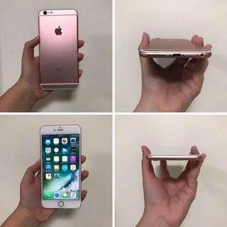 WTT iPhone 6S Plus 64GB Rose Gold Edition