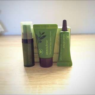 【Innisfree】Green Tea Seed Special Set