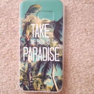 Take Me Back To Paradise Samsung S7 Soft Phone Case