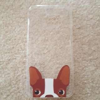 Pug Dog Samsung S7 Transparent Case