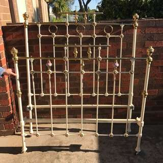 Antique Iron Double Bed