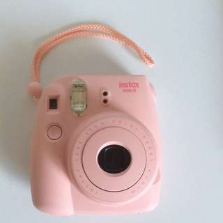 Instax Mini 8 Polaroid Film Camera Pink