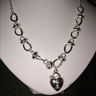 Silver Filled Bracelet And Necklace Set