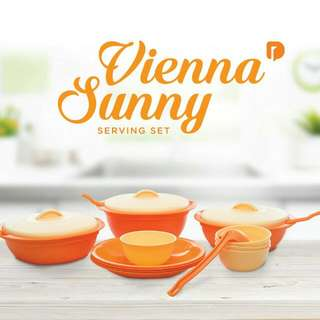Vienna Sunny Serving Kit