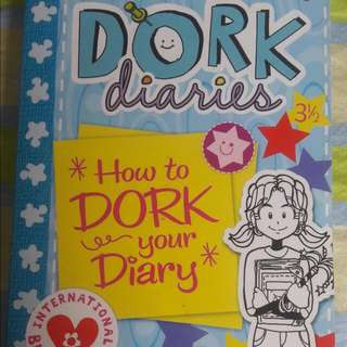 "Dork Diaries ""How To Dork Your Diary"""
