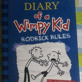 "Diary Of A Wimpy Kid ""Rodrick Rules'"