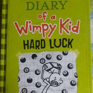 "Diary Of A Wimpy Kid ""Hard Luck"" (Hard Bound)"