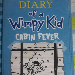 "Diary Of A Wimpy Kid ""Cabin Fever"" (Hard Bound)"