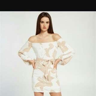 Bardot Camilla Dress Soft Tan