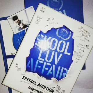 BTS Repackaged Album Skool Luv Affair Special Addition (SLA SA) with J-Hope photocard