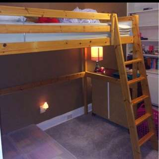 Loft bed With Mattress