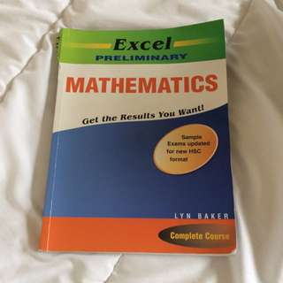 Excel Preliminary Mathematics