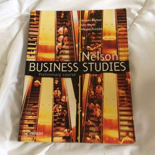 Nelson Business Studies Preliminary Course