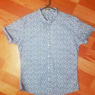 Floral Print Buttondown (Polo)