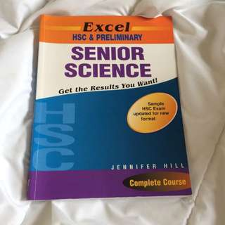 Excel HSC Senior Science